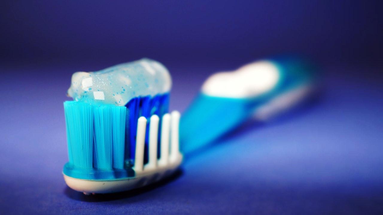 Tandpasta houder
